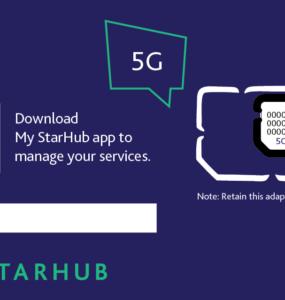 StarHub 5G Sim Only Cover Image