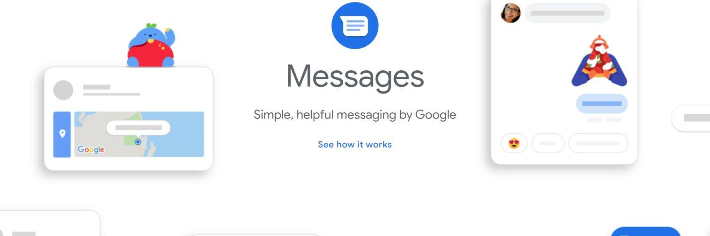 Google Messages Website