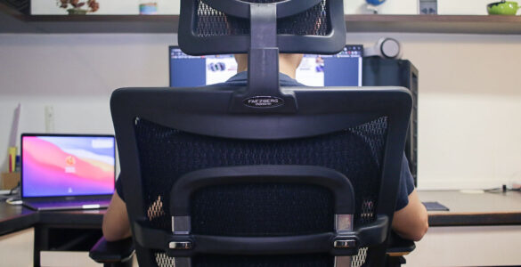 We tried a $899 office chair from Ergomeister